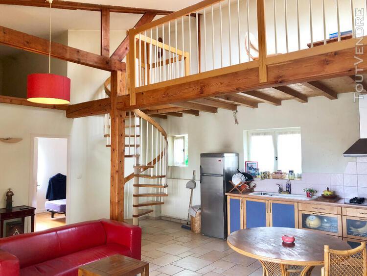 Maison de ville 88 m² avec garage/entrepôt 80 m²