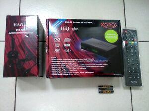 récepteur numérique full hd modèle xoro hrt dvbt/t2 neuf