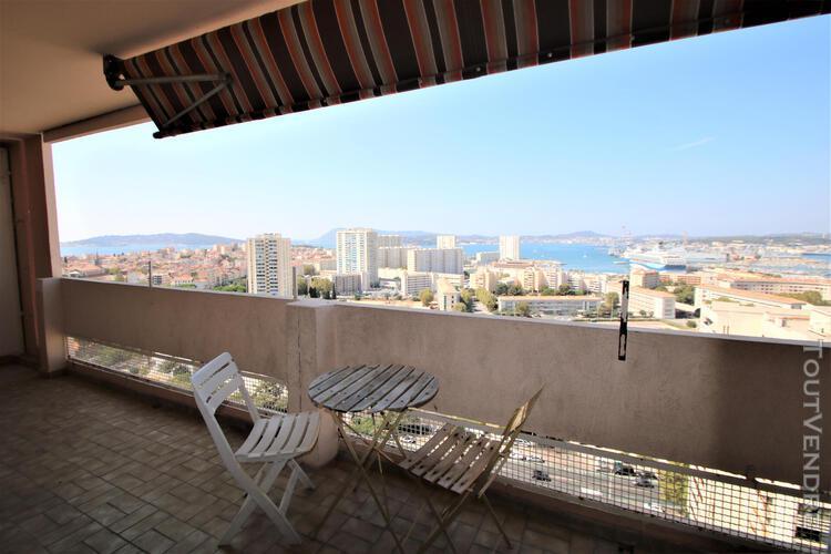 Toulon la rode - 3 chambres 89m2 - vue mer extraordinaire