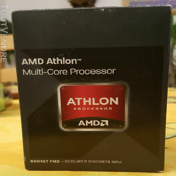 Amd athlon x4 750k 3.4 ghz black edition fm2 (cpu + ventilat