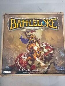 Battlelore seconde edition - superbe jeu de figurines -