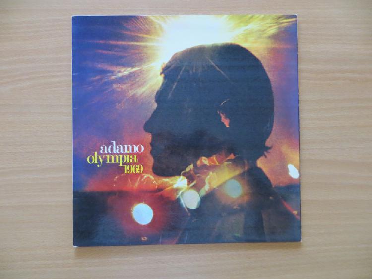 disques 33 t vinyle adamo occasion, flévy (57365)