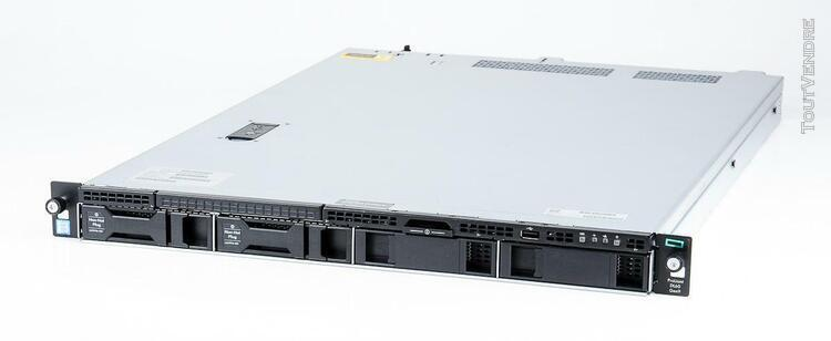 hp proliant dl60 gen 9 xeon e5-2603v3 1.6ghz 8 go ddr4 ram 4