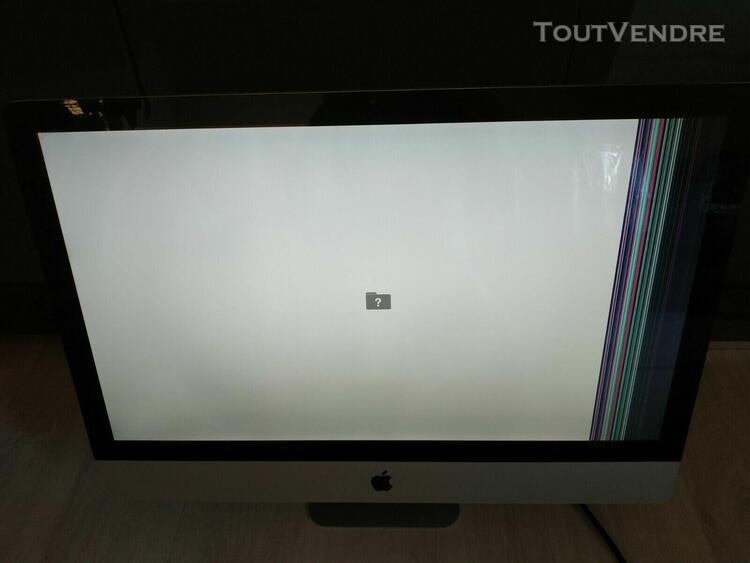 Ordinateur de bureau apple imac a1312 emc no. 2429 (27 pouce