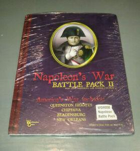 rare - napoleon's war battle pack ii (2) - worthington
