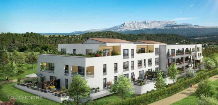 T3 de 56m2 avec terrasse et parking - meyreuil 13590