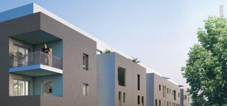T3 de 60m2 avec terrasse de 56m2 et parking - marignane 1370