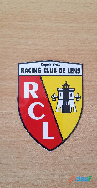 Autocollant sticker racing club de lens rcl Football club 7,5x5 cm