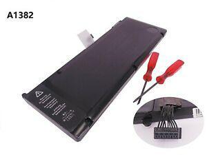 10.95v 7080mah a1382 batterie pour apple macbook pro unibody