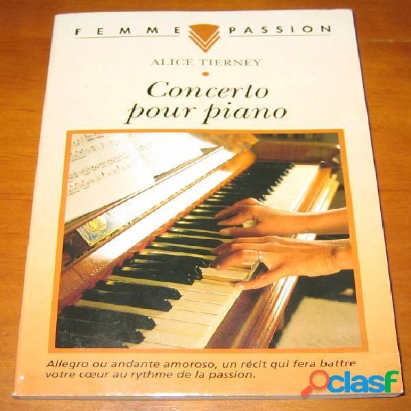 Concerto pour piano, alice tierney