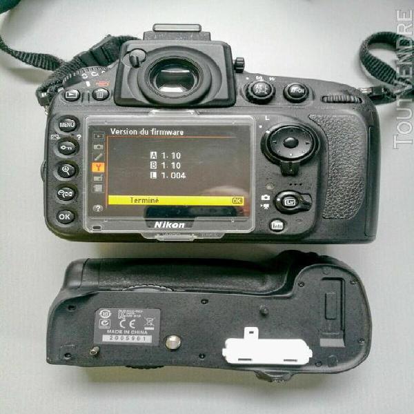 Appareil photo numérique dslr nikon d800 e et grip mb-d12