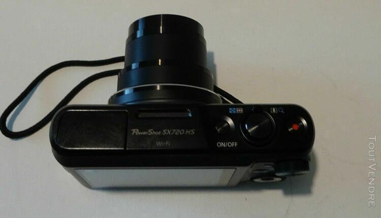 Canon powershot sx720 hs 20mp 40x zoom optique numérique c