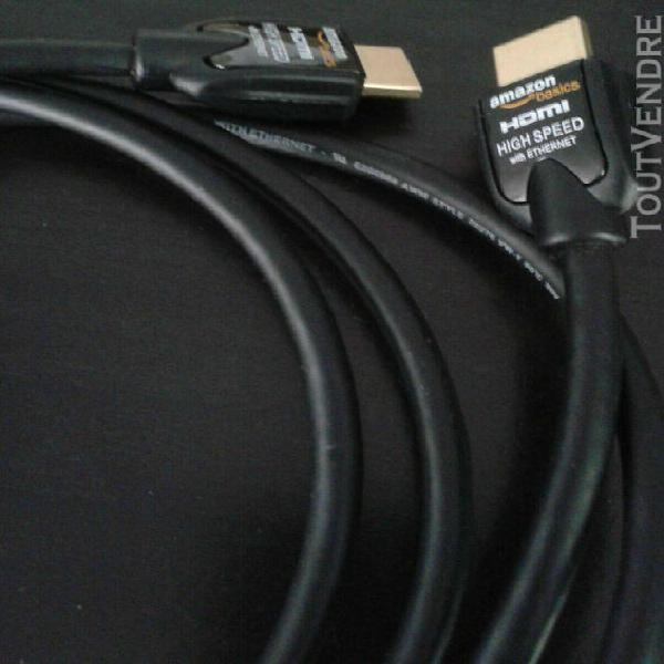 Câble hdmi (2 mètres)
