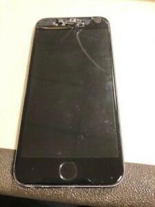 Iphone 6s 16 go gris débloqué, pas d'affichage, aucun