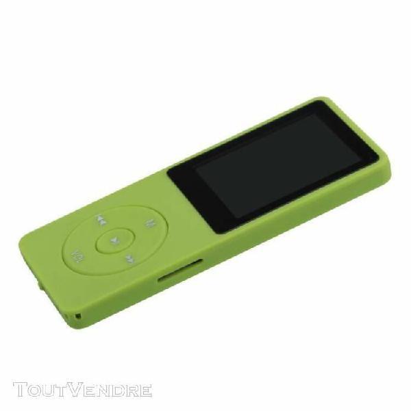 Mio1997®4 go mini slim numérique mp3 mp4 player jeux
