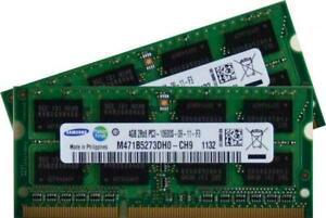 Samsung - 8 gb mémoire ordinateur portable - kit 2x4 dual