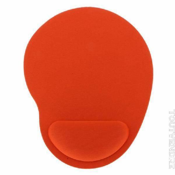 2pcs doux confort anti- gel de glissement pad tapis de souri