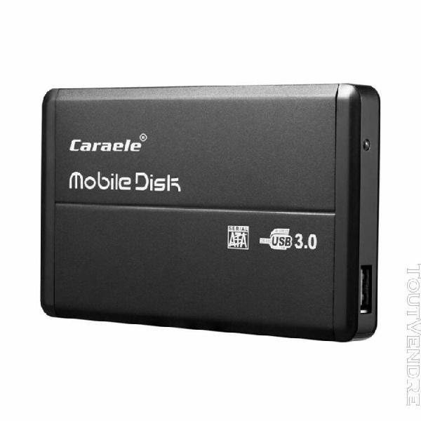 500 go aluminium disque dur externe portable usb 3.0, stocka