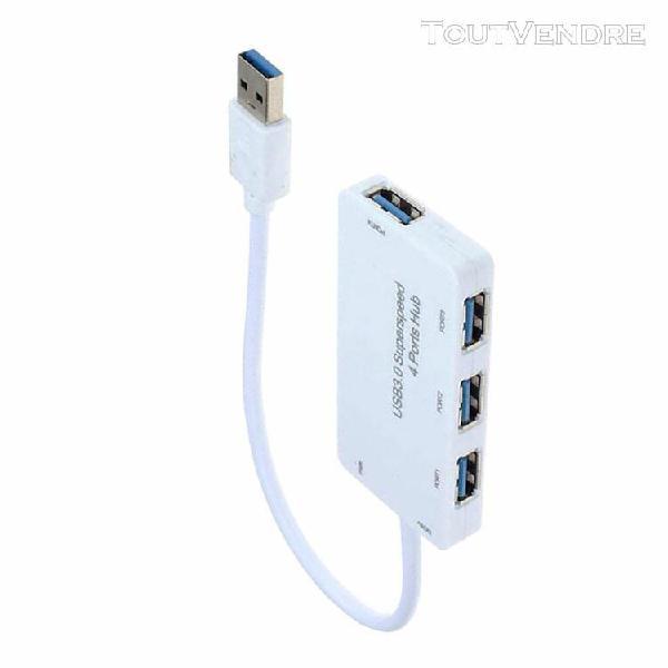 adaptateur de répartiteur de chargeur multi de ports 4