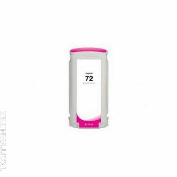 cartouche compatible hp c9372a n72 magenta