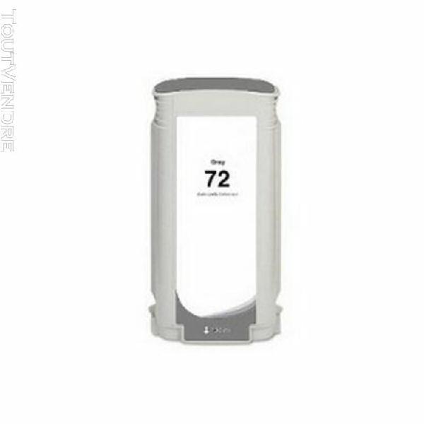 cartouche compatible hp c9374a n72 gris