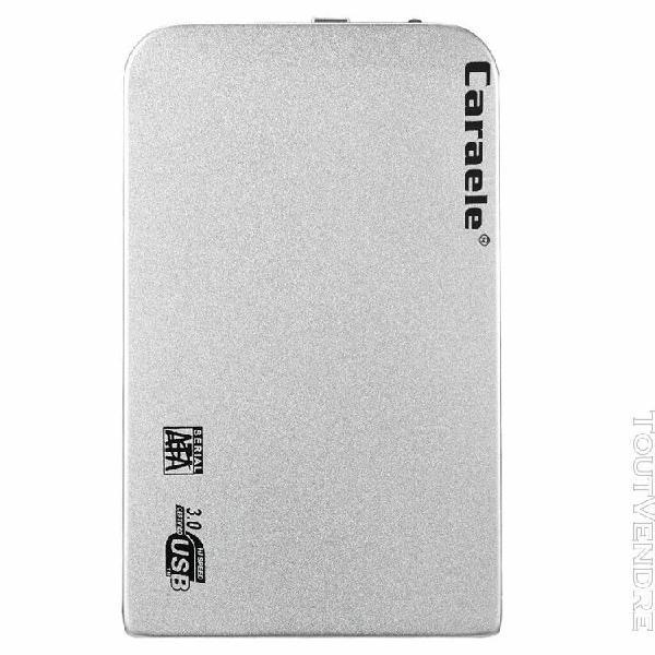 disque dur externe portable ultra slim usb3.0 sata ssd argen