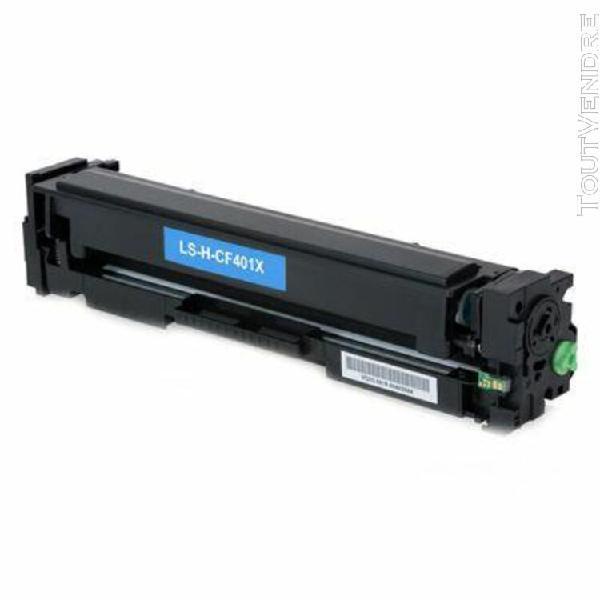 Toner compatible hp cf401x cyan
