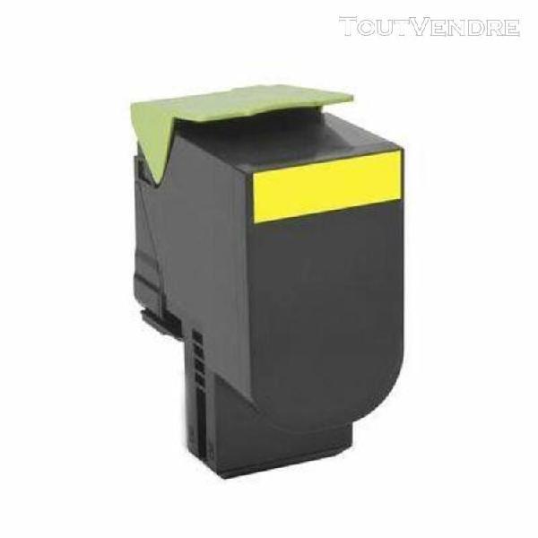 toner compatible lexmark 24b6010 jaune