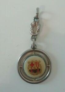 Ancien porte clé fc barcelone 1980 foot vintage barcelona