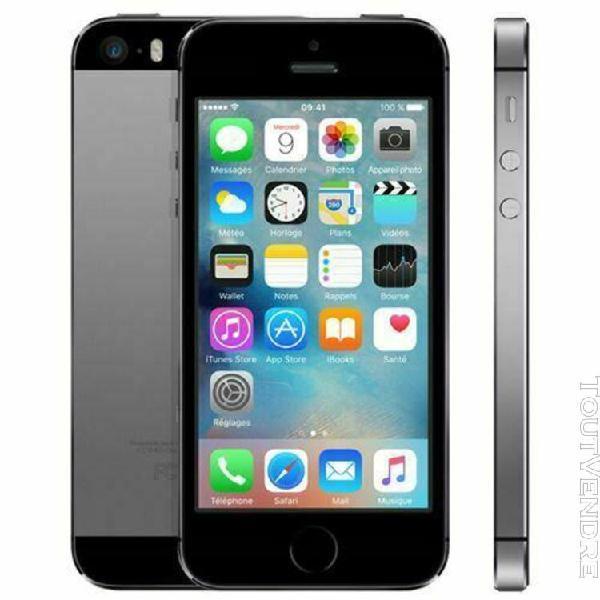 Apple iphone 5s - 16 go - argent (désimlocké)