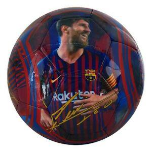 Ballon football fc barcelone lionel messi
