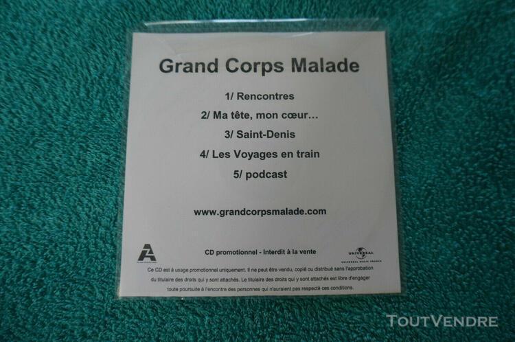 Cd promo grand corp malade / 5 titres
