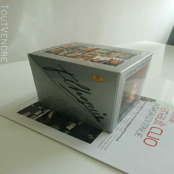 Chopin compact edition 10 cd très bon état/comme neuf