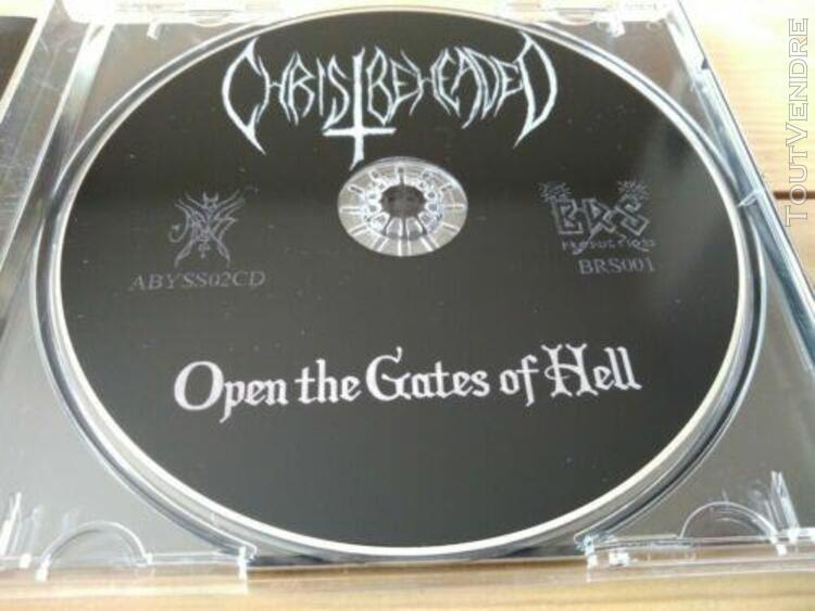 "Christ beheaded ""open the gates..."" thornspawn, beherit, bla"