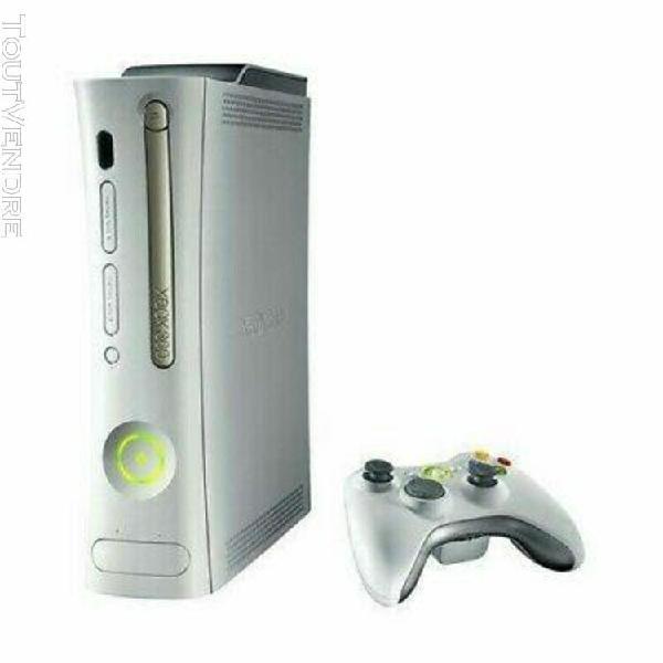 Console xbox 360 60gb, microsoft - blanche