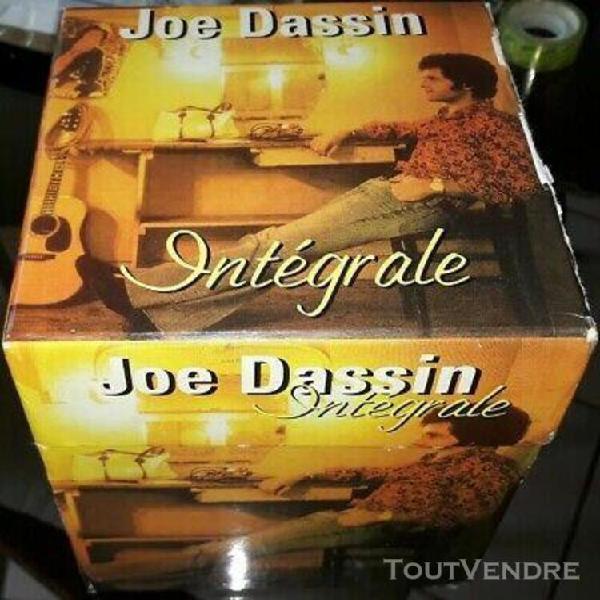 Joe dassin rare coffret 11 cd + livret integrale