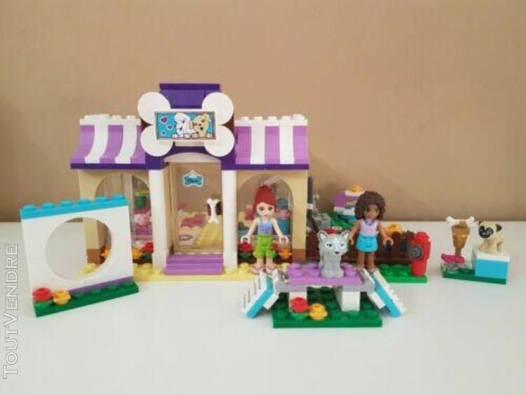 Lego friends 41124 - la garderie pour chiots complet