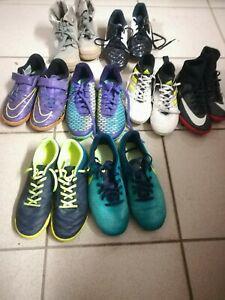 Lot chaussures football futsal nike adidas paladium occasion