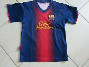 Maillot fc barcelone messi 6/8 ans