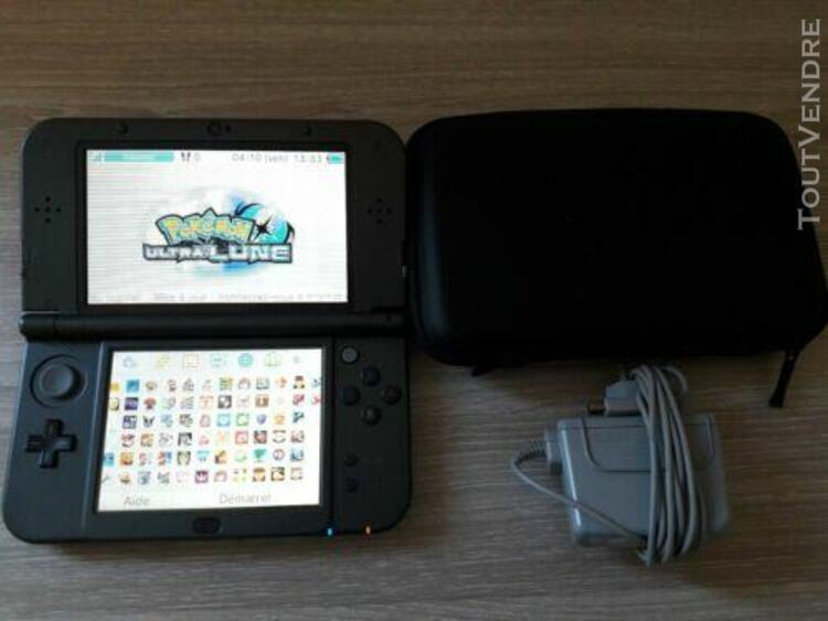 Nintendo new 3ds xl grise avec 60 jeux installés