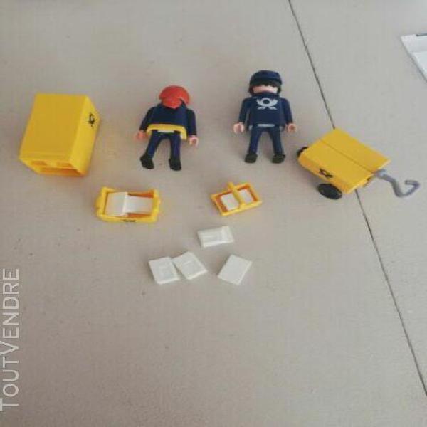 Accessoire personnages poignée acajou playmobil ref 1