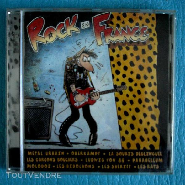 Rock en france - cd rock alternatif, punk - 19 titres -