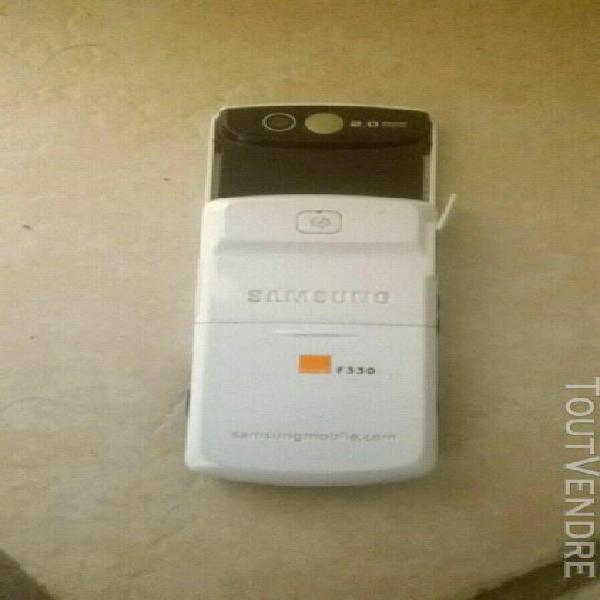 Samsung sgh-f330 blanc