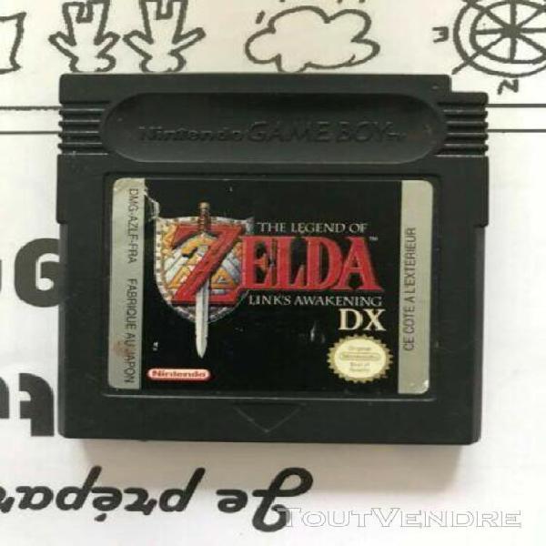 Zelda dx game boy fr
