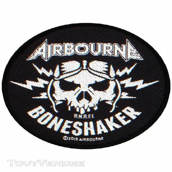 airbourne patch boneshaker 9,5 x 9,5 cm