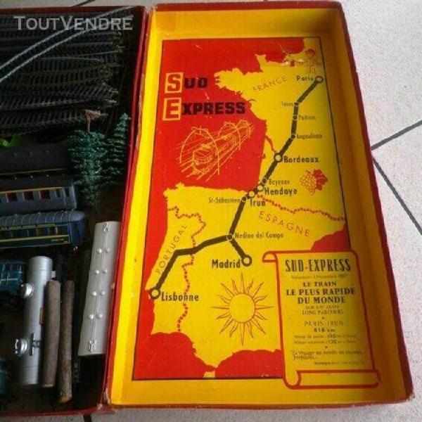 Ancien train electrique jouef sud express boite complete +