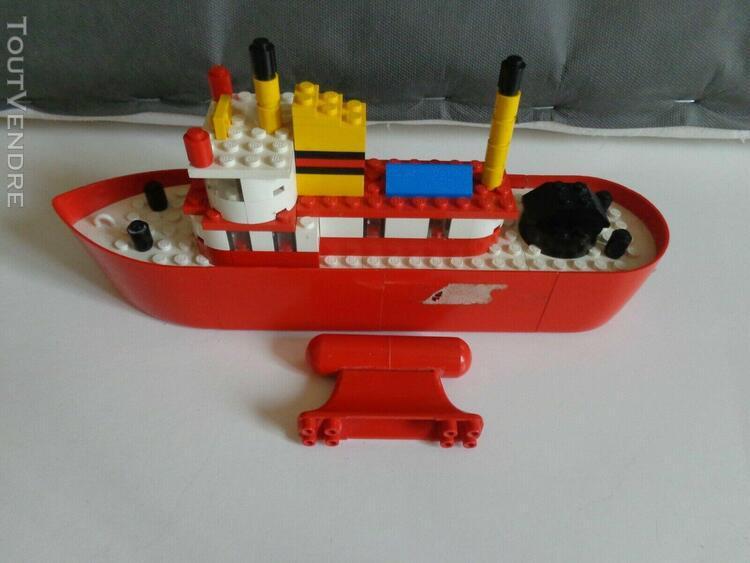 Bateau type ferry boat - lego 311 - complet avec notice - 19