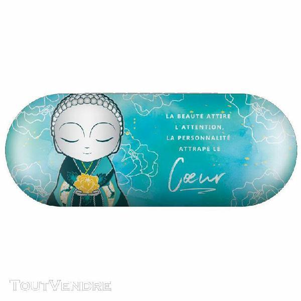 Boite à lunettes little buddha bleu