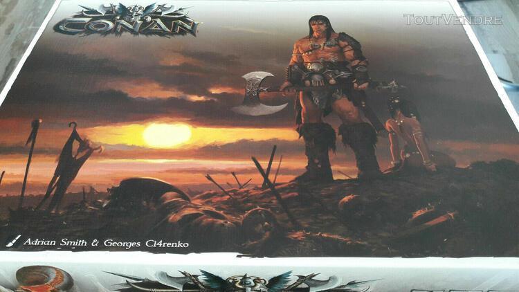 Conan - stretch goals box (vo / vf) - kickstarter (mythic ba