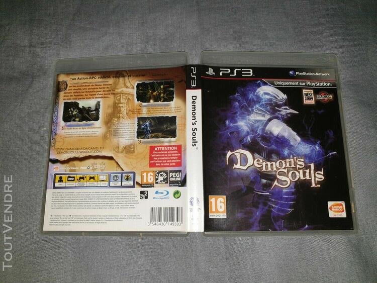 Demon's souls from software playstation 3 ps3 pal fr complet